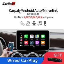 Carlinkit Multimedia Smart Car Retrofit with Apple Carplay Android AutoBox for Mercedes NTG4.5 2012-2014 iOS AirPlay For Benzs(China)