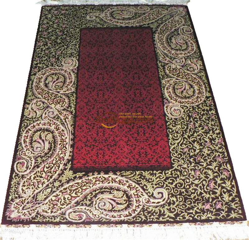 Silk Persian Rug Oriental Rugs Handwoven Carpets For Living Room Pattern   St-12015260l