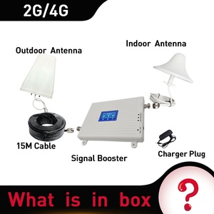 Image 5 - 2G 3G 4G 900/1800/2600 GSM DCS FDD LTE 4G Tri Band Signal Repeater GSM cellular Mobile Signal Booster 4GAmplifier