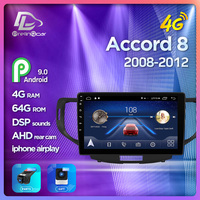 Prelingcar For Honda Accord 8 2008 2009 2010 2011 2012 NO 2din DVD 2din Android Car Radio Multimedia Video Player Navigation GPS