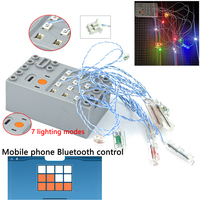 Lamp Pin port compatible with Building Block moc City Street DIY remote control 1
