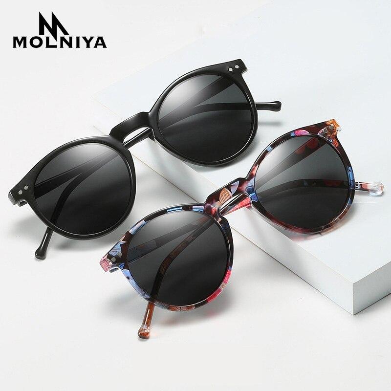 Polarized Sunglasses Men Women Driving Round Frame Sun Glasses Retro Male Female Goggle UV400 Shades Oculos Gafas De Sol