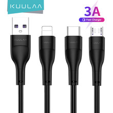 KUULAA USB Typ C Kabel Ladegerät Kabel Für iPhone Xiaomi Redmi Hinweis 10 9 Pro Huawei Kabel Micro USB Schnelle ladekabel Daten Draht