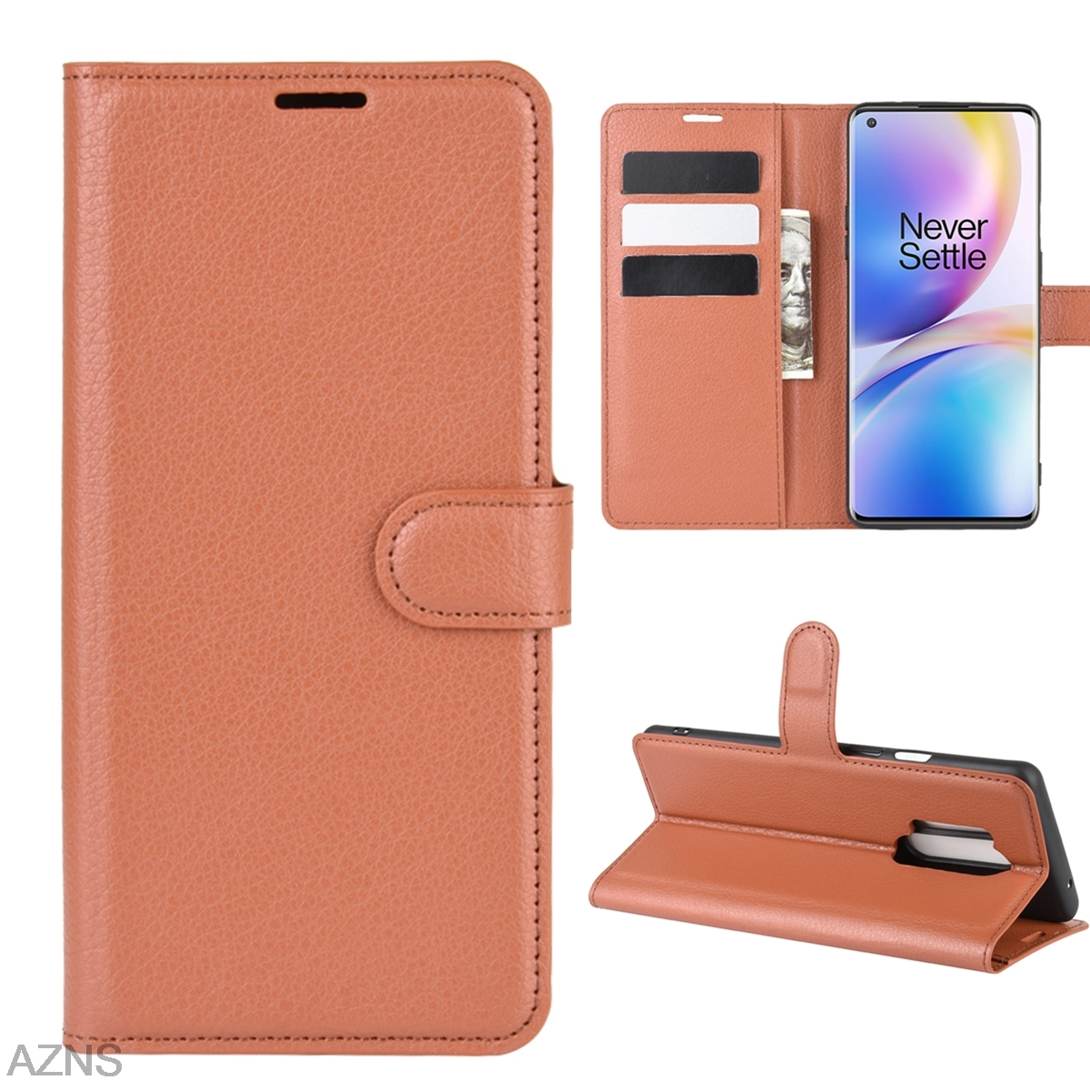 <font><b>Wallet</b></font> Cover Card Holder Phone <font><b>Cases</b></font> for <font><b>Oneplus</b></font> 8 Pro 7 7T Pro 6 6T 5 5T Pu Leather <font><b>Case</b></font> Protective <font><b>Case</b></font> for <font><b>Oneplus</b></font> 1 <font><b>2</b></font> 3 3T image