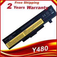 6-элементный Аккумулятор для ноутбука L11L6Y01 для Lenovo Y480 Y480P Y480A Y580M Y580N Y580P V480C G500 G485G, бесплатная доставка