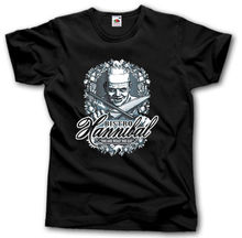 Hannibal Lecter Bistro T Shirt S-XXXL Silence of The Lambs Horror Funny Parody Fashion T-Shirts Summer Straight 100% Cotton