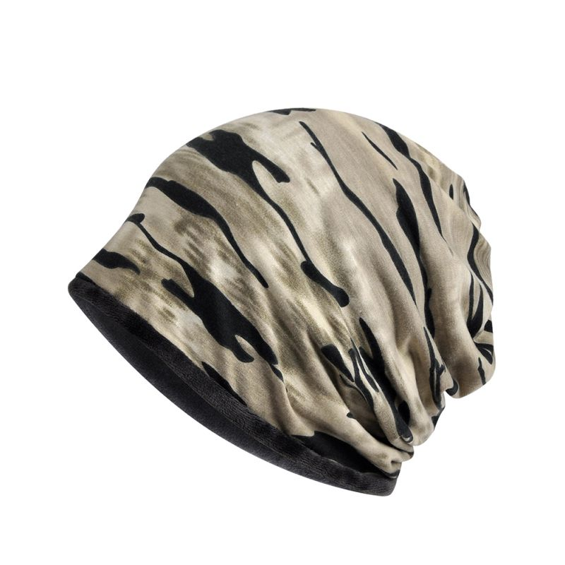 New Women Men Beanie Hat Fleece Warm Winter Hats Spring Camouflage Cap Cycling Climbing Hiking Sports Breathable Hat