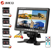Car-Video-Monitor Camera Parking-Camera-System Truck JMCQ Waterproof LCD 4CH with MP5