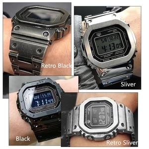 Image 5 - Bracelet de montre/boîtier, sangle en métal, Bracelet en acier inoxydable 316L, haut niveau, avec outils, 5 couleurs, cadeau pour vacances, GMW B5000
