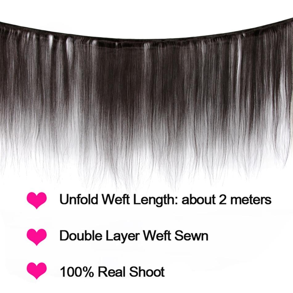 straight hair human hair bundles 02
