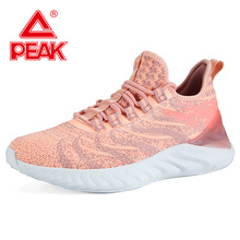 PEAK TAICHI Women Running Shoes Lightweight Cushion Sports Shoes Comfortable Casual Outdoor Sneakers TAICHI Couple Shoes keyconcept 2017 feiyue 2 headed shoes sneakers martial arts taichi kungfu temple of china popular and comfortable