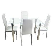 Набор обеденных столов 110 см обеденный стол из закаленного