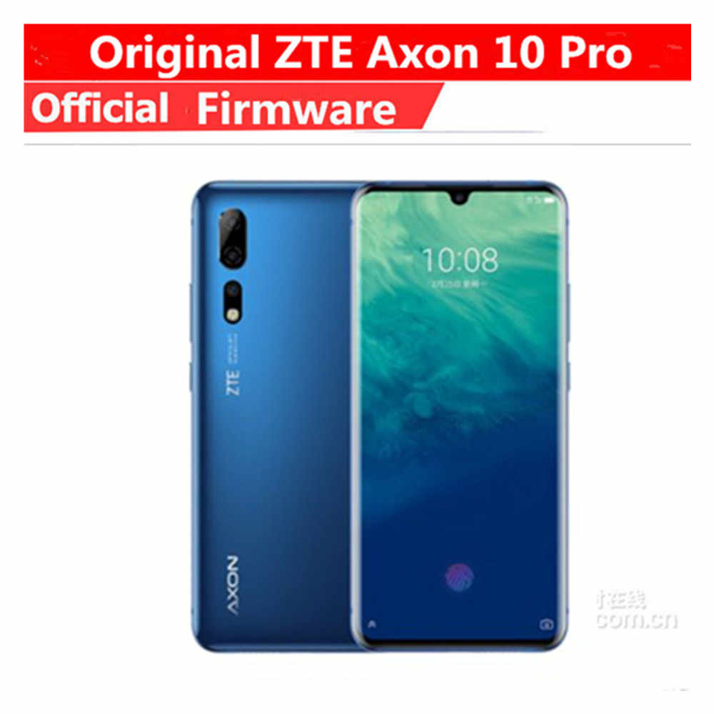 Original ZTE Axon 10 Pro Handy Snapdragon 855 Android 9.1 6,47 Zoll IPS 2340x1080 12 GB RAM 256 GB ROM 48.0MP Fingerprint