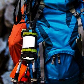 Dropshipping Portable LED Camping Lantern Work Light Outdoor Tent Light Handheld Flashlight USB Rechargeable Port Spotlight 6