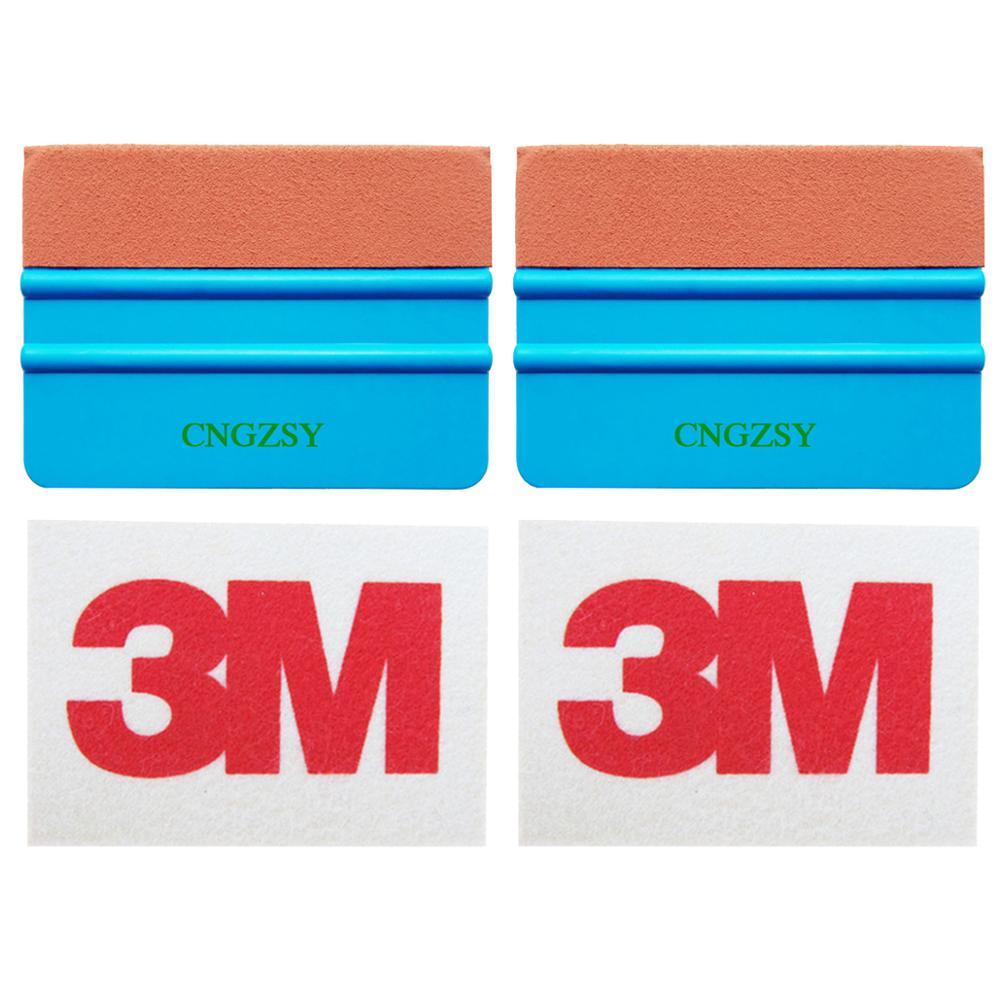 3M Wool Squeegee Scratchless Suede Felt Scraper Car Stickers Tint Tools Vinyl Wrap Tools Solar Window Film Application Tools K31|Sponges  Cloths & Brushes| |  - title=