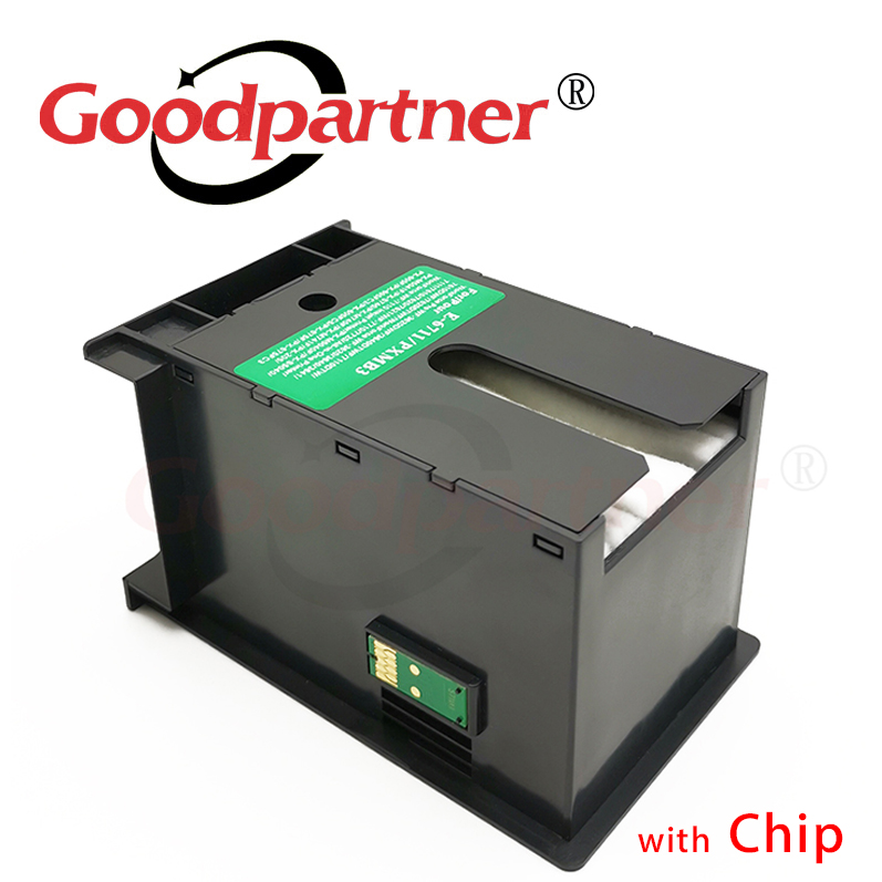 1PC X T6711 L1455 Ink Maintenance Box For Epson WF 7610 7620 7720 7110 7210 7510 7615 7710 7715 3010 3520 3530 3540 3620 3640