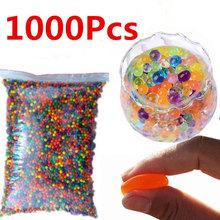 1000 шт./пакет воды бисер хрустальный шар гидрогель гель Декор для дома детские игрушки шарики 5zSH760