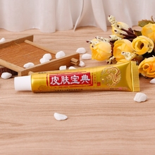 Natural Chinese Medicine Herbal Anti Bacteria Cream Psoriasis Eczema Ointment Treatment H55D цена и фото