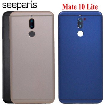 For Huawei Mate 10 Lite Battery Cover Rear Door Housing G10 Plus Back Case Chassis Nova 2i Mate 10 Lite Battery Cover