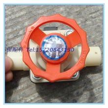 Pipe Valve Accessories DN50/75/90/110/140/160 Plastic ABS Diaphragm Valve Plastic Water Shut-off Valve