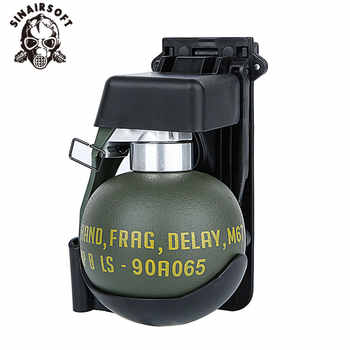 Airsoft M67 Frag Grenade Dummy Model Molle System BB Pouch Plastic Tactical Military Costume Wargame Paintball Accessories Ball