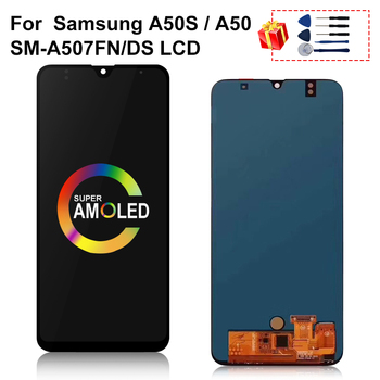 Super AMOLED For Samsung Galaxy A50S A507 A507F Touch Screen Digitizer Display Assembly Parts For Galaxy A50S Display