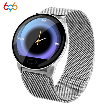 696 K9-WF Full Touch Pedometer Smart Watch Fitness Tracker Heart Rate Monitor Blood Pressure Smartwatch Monitor Smart Bracelet image