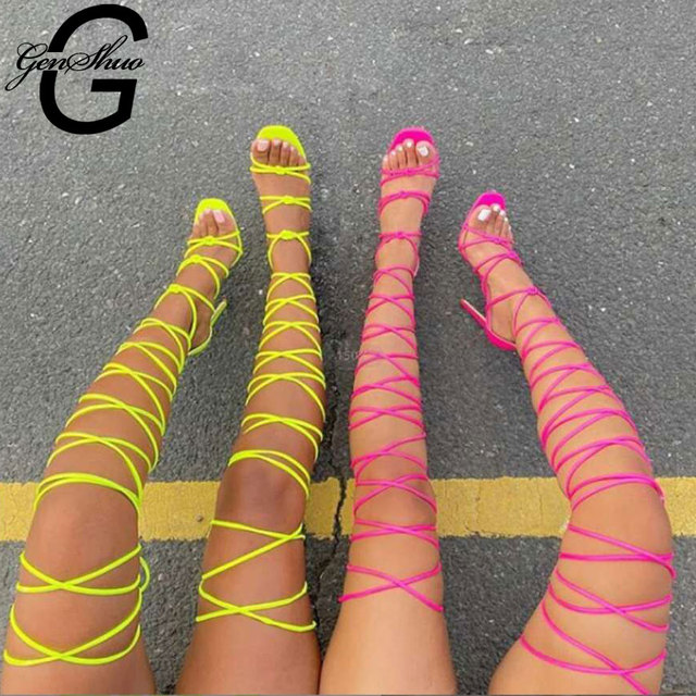 GENSHUO Summer Women Sandals 1