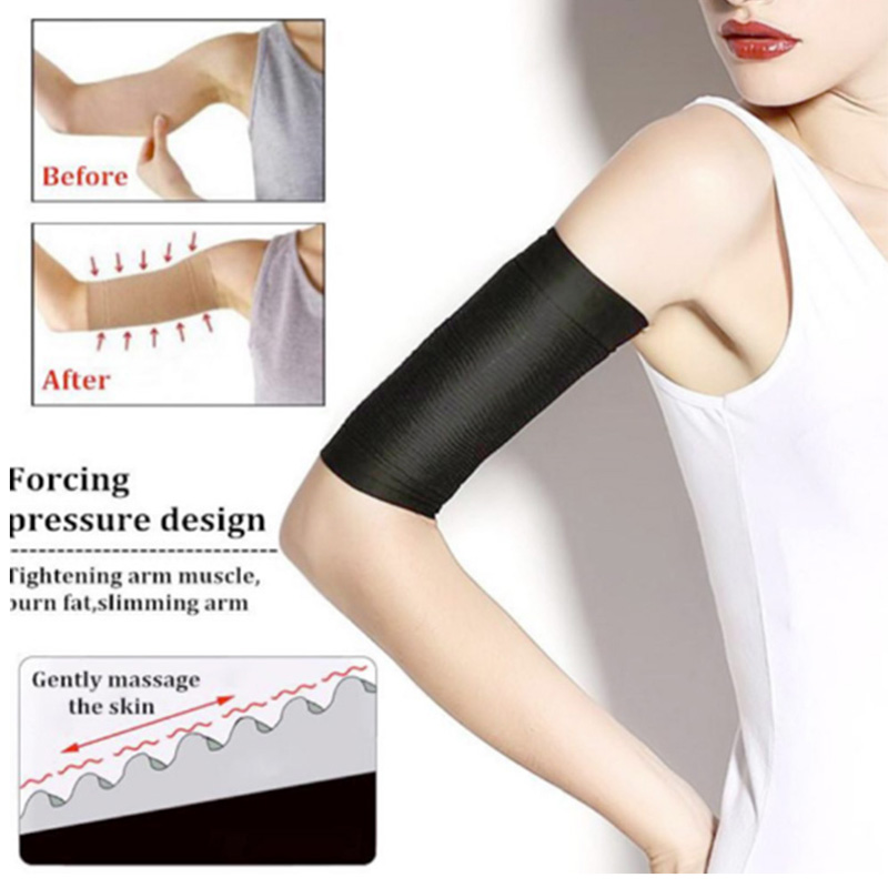 1 Pair Fat Weight Loss Arm Shaper Fat Buster Off Cellulite Slimming Wrap Belt Band For Women Lady Girl Massage For Women