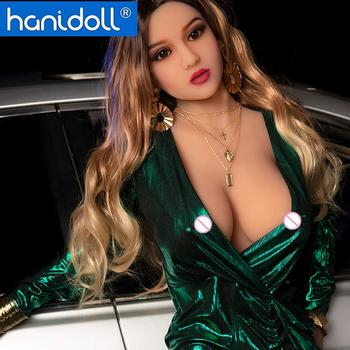 Hanidoll Silicone Sex Dolls 165cm Love Doll Real Sex Doll Realistic Vagina Ass Pussy Fetish Men Real Sex Doll Sex Toys for Men