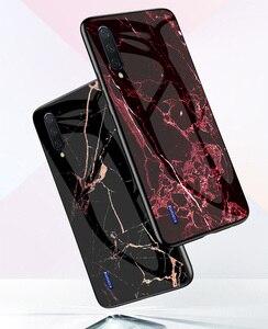 Image 3 - Cassa del telefono per Xiaomi Mi 9 lite Caso MI A3 Marmo Temperato Vetro Della Copertura Posteriore per Xiaomi Mi A3 9T Pro K20 Pro 9 se Lite Caso 9SE