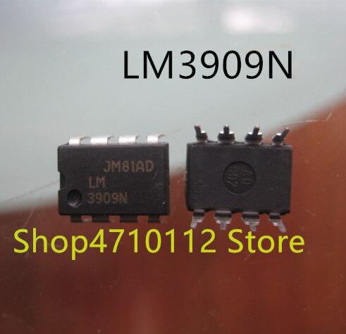 Free Shipping NEW 10PCS/LOT LM3909N LM3909 DIP-8