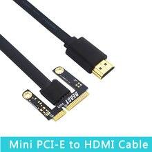 Mini adaptador de cabo pci-e para v8.5c exp gdc adaptador de placa gráfica para portátil