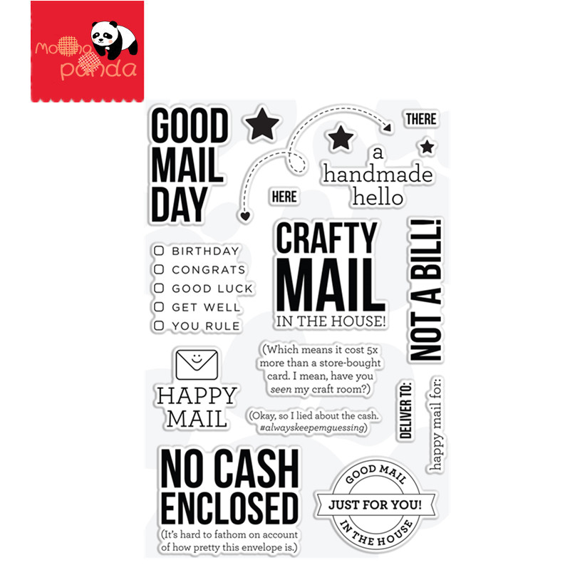 GOOD MAIL DAY STAMPS Metal Cutting Dies Stencils Die Cut For DIY Scrapbooking Album Paper Card Embossing
