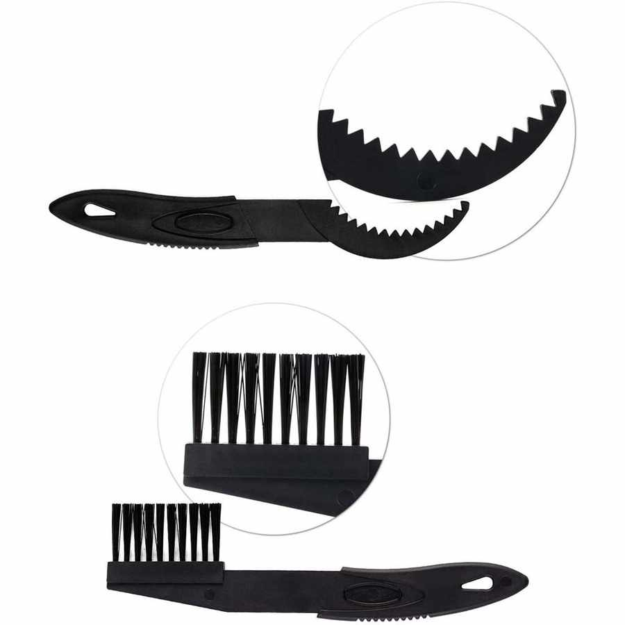 Veronivan Bike Cleaning Tool Set 8 Pieces Bicycle Clean Brush Kit Fit For Motorcycle Bike Chain Brush For Gears Chains Maintenance Cleaning Brush