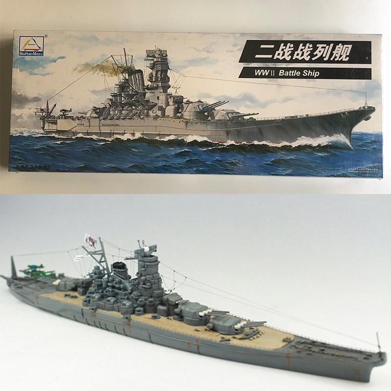 Electric Assembled Ship Model 30cm World War II Japan Yamato Battleship Warships