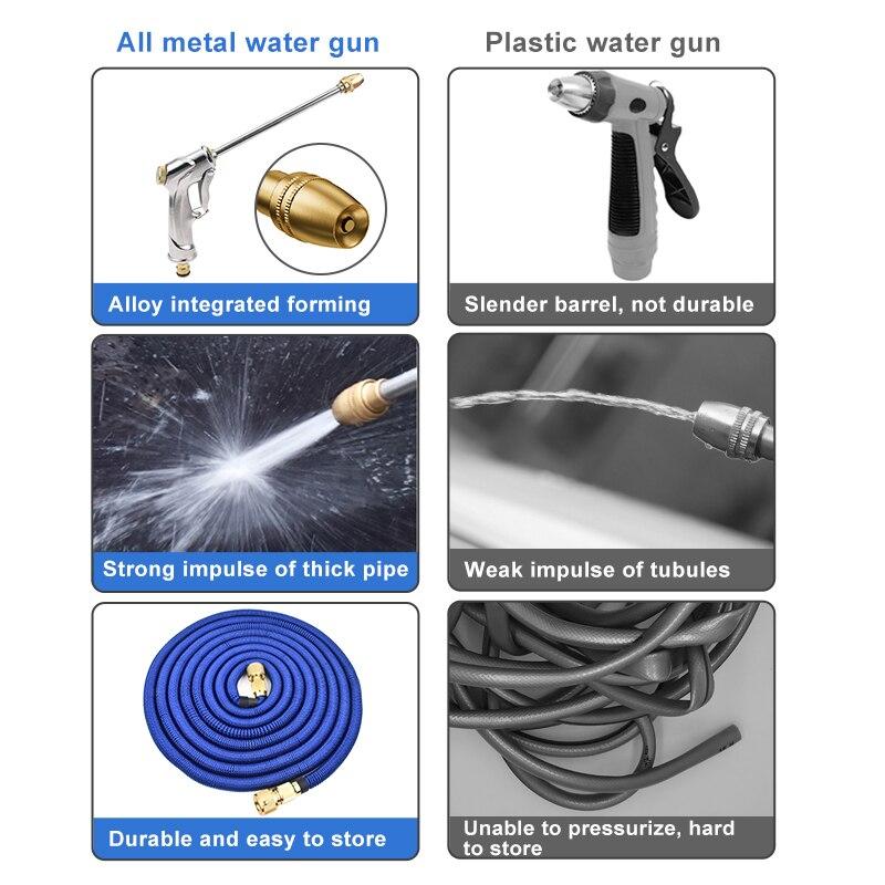 SPEEDWOW dysza pistolet do rozpylania wody Spray do wody regulowana myjka wysokociśnieniowa do czyszczenia roślin kwiatowych myjnia samochodowa