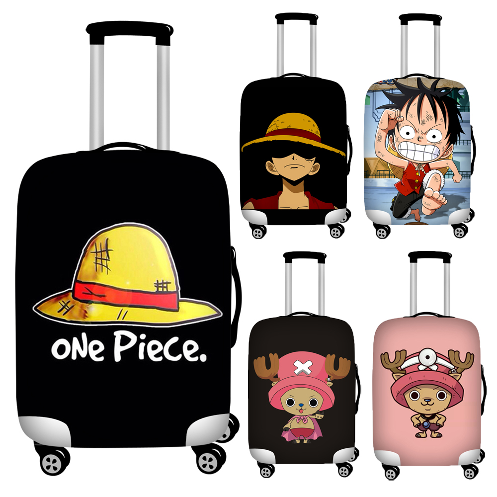 Nopersonality 18''-32'' One Piece Print Luggage Protective Cover Cute Choba Protective Travel Suitcase Cover Trolley Case Cover