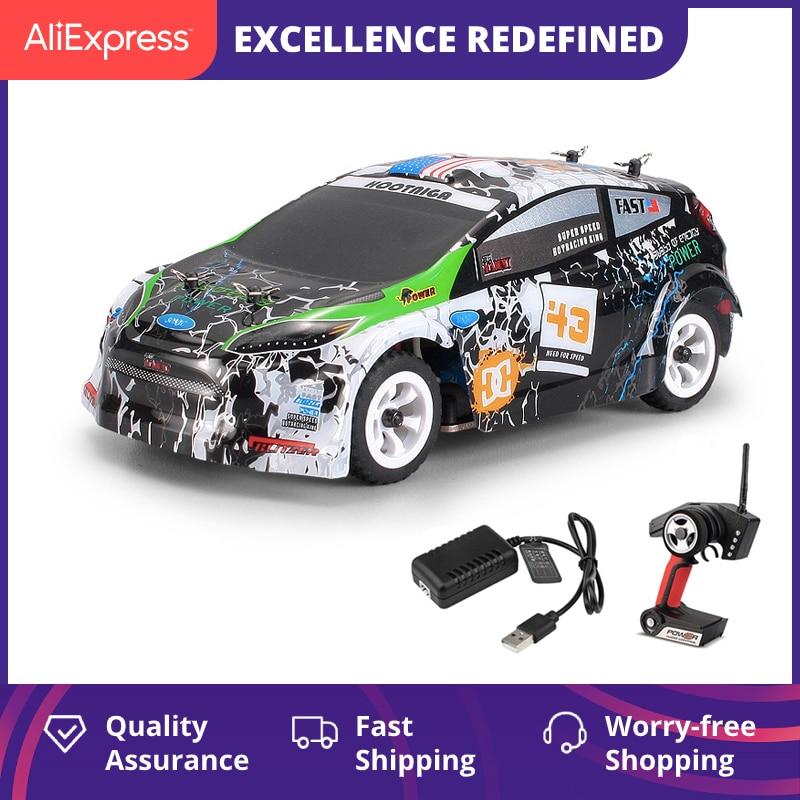 WLtoys K989 четырехколесный привод с дистанционным управлением, автомобильное зарядное устройство, электрические игрушки, мини-гоночный автомобиль 1:28, высокоскоростной внедорожник 1