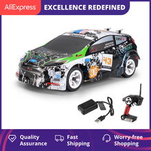 WLtoys K989 Remote Control Four-Wheel Drive Car Charger Electric Toys Mini Race Car 1:28-Ratio High-Speed Off-Road Vehicle
