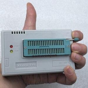 Image 2 - V10.27 XGecu TL866II Plus programator USB obsługa 15000 + IC SPI Flash NAND EEPROM MCU PIC AVR wymień TL866A TL866CS + 4 adaptery