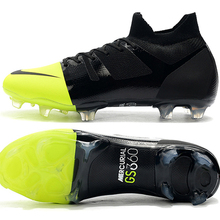 Wholesale and retail GS FG Soccer shoes green speed football