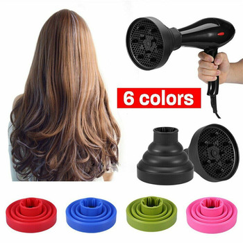 Silicone Hair Dryer Diffuser Professional Universal Foldable Salon Styling Curly Tool Fashion Travel Hair Care Diffuser hot selling hair dryer diffuser universal blower hairdressing salon hair dryer curly hair dryer diffuser blow tool