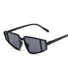 New avant-garde triangle cat-eye sunglasses dazzling water a