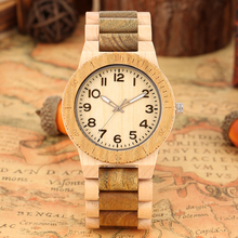 Quartz Wood Watch for Men Natural Maple Strap Wooden Watches for Female Luminous Pointers Wooden Wristwatch relogios masculinos все цены