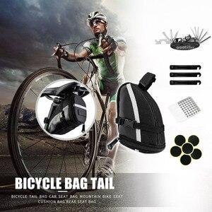 Хвост сзади подседельная сумка для хранения 1.2L MTB дорожный велосипед седло сумки для хранения панье сумки сзади подседельная сумка чехол