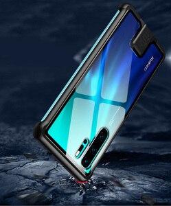 Image 4 - 強化ガラスハードケース Huawei 社 P30 プロケース金属フレーム耐衝撃カバー Huawei 社メイト 20 プロ名誉 20 プロノヴァプロ