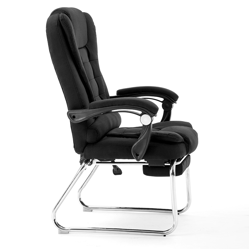 Computer Chairs Use Modern Simple Lazy Backrest Leisure Study Chairs Office Meetings Bow Cloth Seats