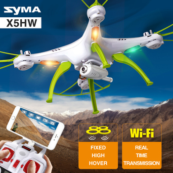 SYMA X5HW Drone With Camera HD Wifi FPV Selfie Drone Drones Quadrocopter RC Helicopter Quadcopter RC Dron Toy (X5SW Upgrade) цена 2017