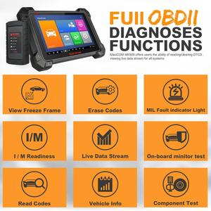 Image 4 - Autel MaxiCOM MK908 Code Reader Car Diagnostic Tool OBD2 Scanner Ferramentas Automotivas Para Carros Auto Scanner